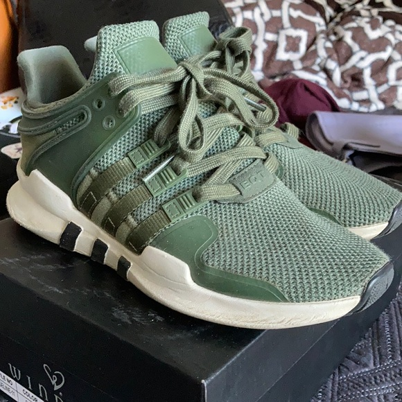 adidas Shoes | Adidas Olive Green Shoes